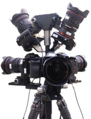 오로라 촬영에 사용된 카메라